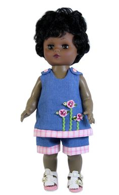 Denim Short Set for Goodfellow Dolls