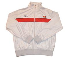Sueded polyester track jacket - silver
