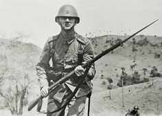 Tropentenue der mariniers in de tropen in de jaren 1939/1940