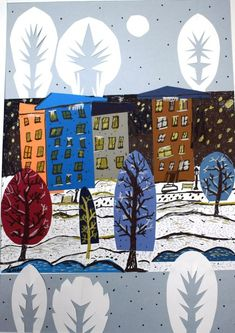 New art projects for kids winter children 37 Ideas Unique Art Projects, Projects For Kids, Winter Painting, Winter Art, Art Lessons For Kids, Art For Kids, New Year Art, Collaborative Art Projects, Canvas Art Quotes
