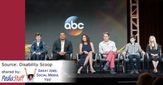 ABC's 'Speechless' Striving To Be More Than 'The Disability Show'  - pinned by @PediaStaff – Please Visit  ht.ly/63sNt for all our pediatric therapy pins