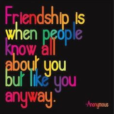 To my best friend...thank you for liking me. I like and 'appreciate' you :)