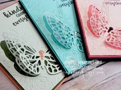 Click here for more information & to watch my quick video to see how to double the value of your dies with the Big Shot Embossing Mats AND how to make pretty butterfly cards using new products from the Garden Impressions Suite that will debut on June 1st in the 2018-19 Catalog: Abstract Impressions stamp set & Springtime Impressions Thinlits dies…#stampyourartout #stampinup - Stampin' Up!®️️ - Stamp Your Art Out! www.stampyourartout.com