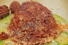 Торт Муравейник/ http://gotovim-doma.ru/view.php?r=781-recept-Tort-Muraveinik /      для теста     сливочное масло - 200 г,     сахар - 3 столовых ложки,     сметана - 3 столовых ложки,     разрыхлитель - 1,5-2 чайных ложки,     мука - 4 стакана,     ванилин - на кончике ножа     для масляного крема на сгущенном молоке     сливочное масло - 200 г,     вареная сгущенка (лучше сваренная в домашних условиях) - 1 банка (400 г)     для украшения     тертый шоколад,     мак     грецкие орехи…