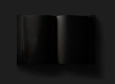 Graphic Design and Visual Art. Negro (untitled) 2017. Book. Black.