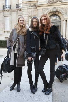 Model Street Style: Paris Fashion Week A/W 2014