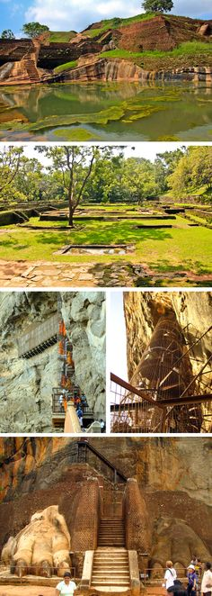 The Lion's Rock, Sigiriya, Sri Lanka #SriLanka #Sigiriya