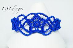 Starburst macrame bracelet ⎮ Christmas
