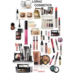 """Lorac"" by annieairwolf on Polyvore"
