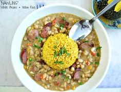 """Beans & Rice anyone! Get my recipe from The Chew """"My Bites"""""""
