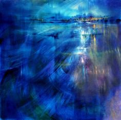 "Annette Schmucker, ""Bald sah sie im Schwarz die Sterne auftauchen"" With a click on 'Send as art card', you can send this art work to your friends - for free!"