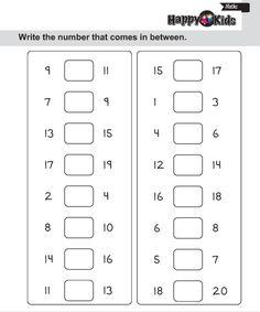 LKG Maths Book Page 41 is part of Kindergarten math numbers - Number Worksheets Kindergarten, Printable Preschool Worksheets, Phonics Worksheets, Preschool Math, Free Printable, Ks1 Maths, Coloring Worksheets, Lkg Worksheets, Hindi Worksheets