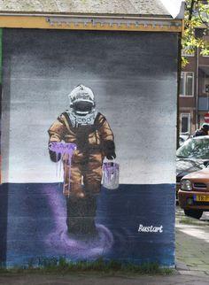 Street Art By Bustart - Amsterdam More