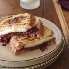 Raspberry jam contrasts the mozzarella cheese perfectly, but also gives this panini a natural sweetness without too many added calories. | Health.com
