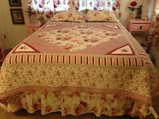 set king floral french comforter cottage of quilts waverly bedding country life spice sets quilt