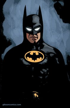 """I want you to tell all your friends about me."" Batman - Jordan Gibson"