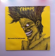 The Cramps Bad Music for Bad People sp 70042 album record vinyl