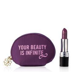 Purple Peace Iconic Lipstick Set | AVON Avon True Color Lipstick in Purple Peace, the official shade of the Avon Speak Out Against Domestic Violence program.