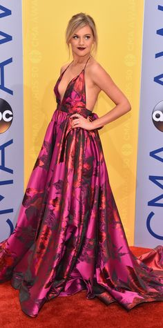 The Hottest Looks from the 2016 CMA Awards Red Carpet - CMA 2016 - Kelsea Ballerini from InStyle.com