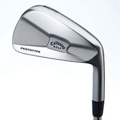 Callaway Prototype and X Prototype - a fine club, but not a muscleback