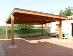 pergola oak carport - Google Search