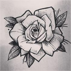#tattoos  #tattooart #rose #rosetattoo