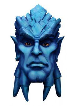 World Of Warcraft Blue Man Draenei Latex Mask (MC-RU-68272)