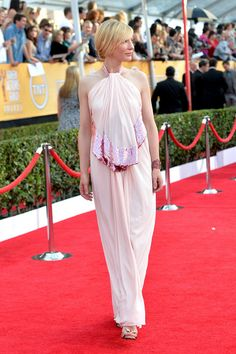 Cate Blanchett attends the 20th Annual Screen Actors Guild Awards at The Shrine Auditorium on January 18, 2014 in Los Angeles, California.