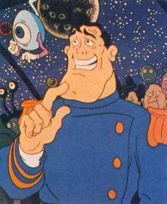 "Heavy Metal (1981): Capt. Stern, ""Take it easy Charlie. I've got an angle."