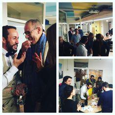 Hier soir chez #MyCowork #montorgueil @tonpetitsommelier nous a fait découvrir le #beaujolais sous un nouveau jour !  SAVE THE DATE : prochain #apéro #degustation sur le thème du #champagne le 15 décembre ! #paris #coworking #networking #afterwork