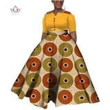 2019 African Dresses For Women Dashiki African Dresses For Women Colorful Daily Wedding Size Ankle-Length Dress African Dresses For Women, African Attire, African Wear, African Fashion, Dashiki, Traditional Outfits, Ankle Length, Two Piece Skirt Set, Plus Size