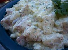 Zesty Red Skin Potato Salad