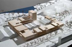 Imagen 16 de 16 de la galería de Universidad de Bergen / Cubo Arkitekter + HLM Arkitektur. Maqueta
