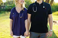 So cute! If only Matt was a nurse...