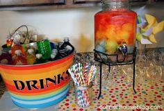 Rainbow Food and Drinks