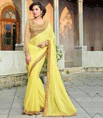 d03e75ae815d71 Designer Party Wear Sarees   Designer party wear sarees. Latest Designer  SareesLatest SareesTraditional SareesTraditional DressesYellow SareeSarees  Online ...