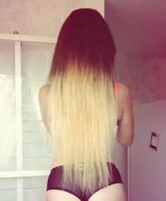 How blond..