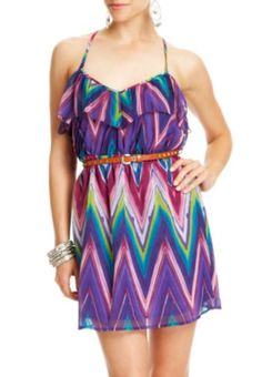 2b | Neometric Gwen Ruffle Dress
