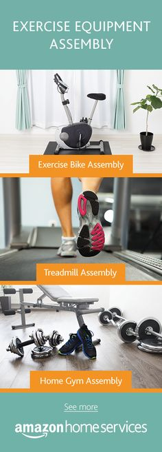 Need help getting that Home Gym ready? Hire a professional assemblist to put together your new Exercise Bike, Treadmill, or Weight Bench safely and securely.