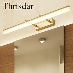 Bedroom Wall Sconce Lighting Picture   More Detailed Picture About Thrisdar  Bathroom Anti Fog LED Mirror Wall Lamp 180 Degree Rotation Arm Bathroom  Bedroom ...
