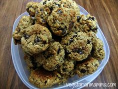 banana oat chocolate chip cookies gluten free