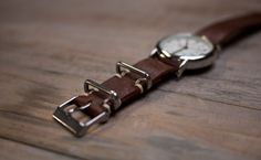 still trying to create my ideal leather double-wrapped custom watchband