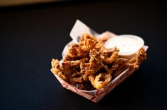 Fried Oyster Mushrooms from Wing Wings in San Francisco, CA   Click to order online