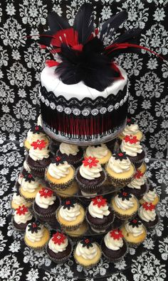 """1920's Theme Party by """"Cupcakes For You"""""""