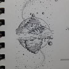 Bildergebnis für planets drawings tumblr