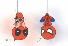 Ah, the love tangling in the air...OMFG, how can you not love Deadpool?