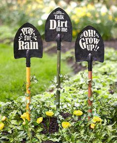 Shovel Decor, Shovel Craft, Garden Projects, Garden Tools, Garden Ideas, Garden Hoe, Garden Cart, Garden Junk, Balcony Garden