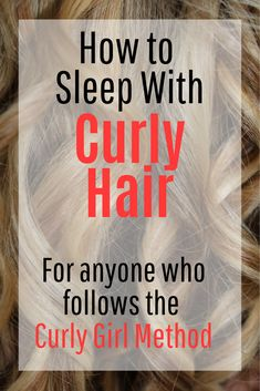 Help your naturally curly hair look it's best with these nighttime curly hair . - - Help your naturally curly hair look it's best with these nighttime curly hair care tips. Keep your curls intact overnight with these techniques. Curly Hair With Bangs, Curly Hair Tips, Curly Hair Care, Hair Care Tips, Curly Hair Styles, Natural Hair Styles, Thin Hair, Caring For Curly Hair, Hairstyle For Curly Hair