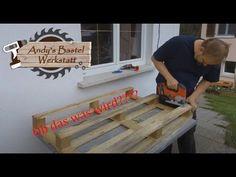Palettengarten aus Einwegpaletten geht das? - YouTube Youtube, Home Decor, Work Shop Garage, Crafting, Decoration Home, Room Decor, Home Interior Design, Youtubers, Youtube Movies