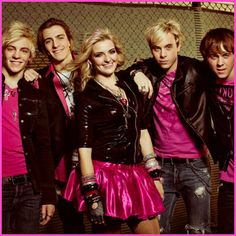 Ross Lynch And R5 Performing At The Glendale Galleria On December 8, 2012